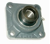 "1/2"" Four Bolt Flange Bearing W/ Lock Collar HCFS201-08"