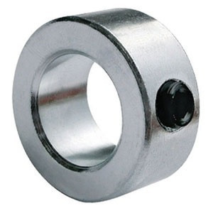 """1"""" Zinc Plated Solid Shaft Collar Image"""