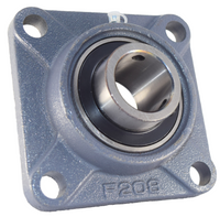 "1-1/2"" Four Bolt Flange Bearing UCF208-24"