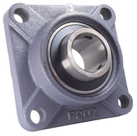 "1-3/8"" Four Bolt Flange Bearing UCF207-22"