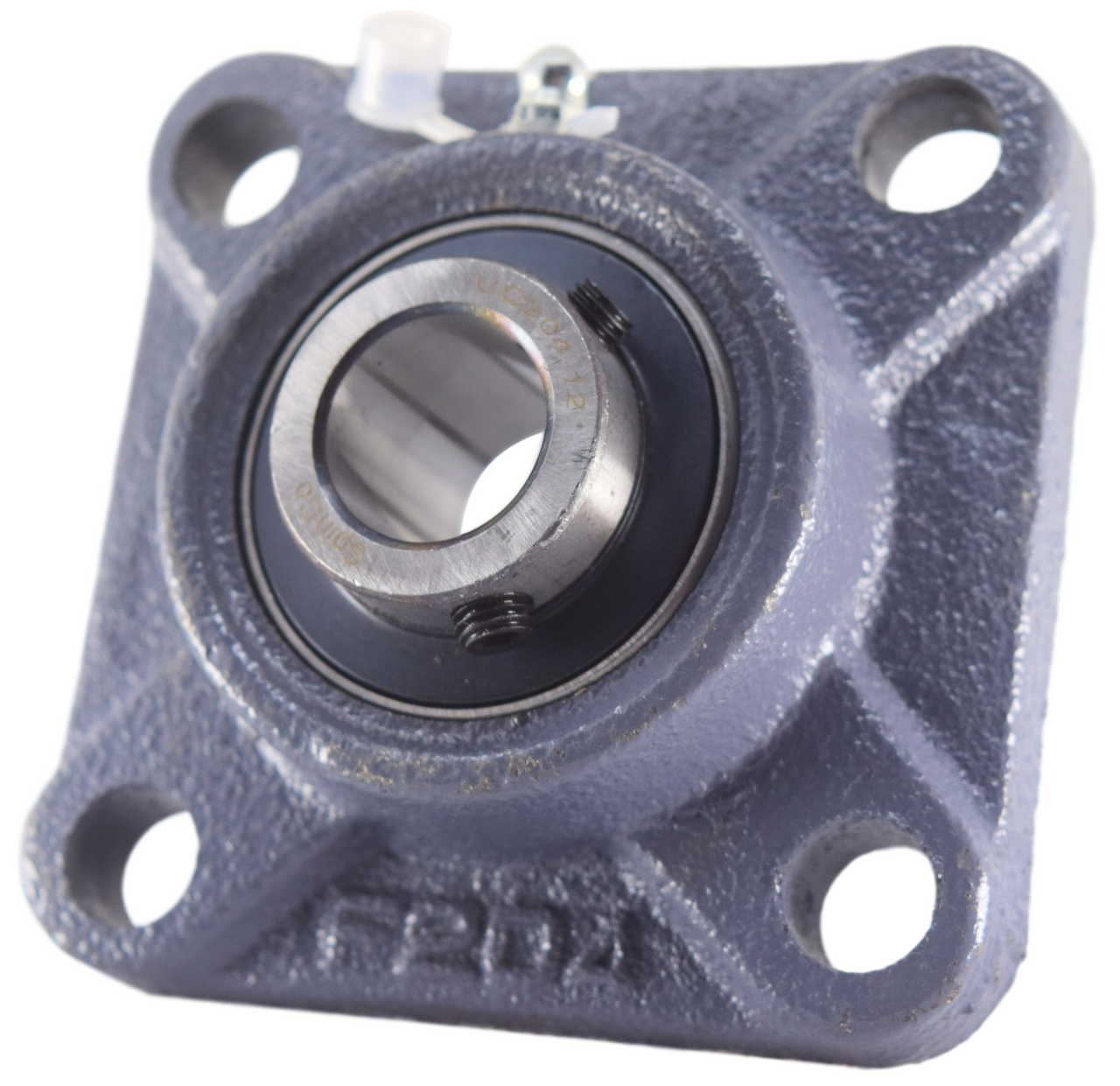 Square Flanged Cast Housing 3//4 Mounted Bearing UCF204-12