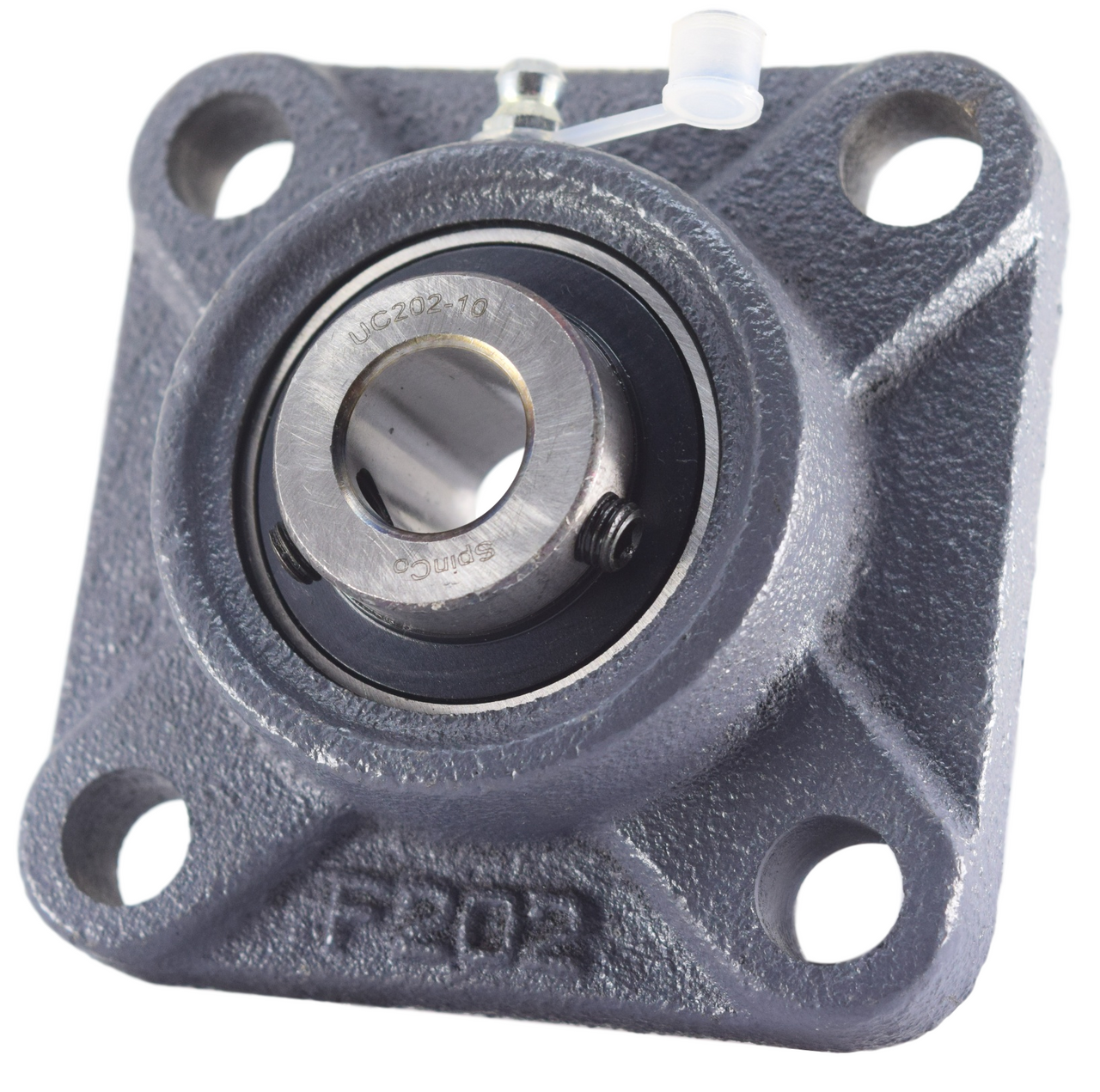 """5//8/"""" UCF202-10 Square Flanged Cast Housing Mounted Bearings"""