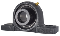 "1-1/8"" Pillow Block Bearing W/ Lock Collar HCAK206-18"