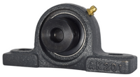 "1/2"" Pillow Block Bearing W/ Lock Collar HCAK201-08"