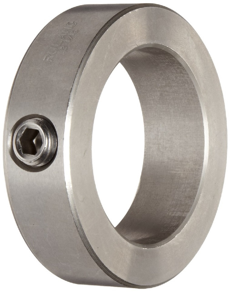 """1-1/8"""" Stainless Steel Solid Shaft Collar Image"""