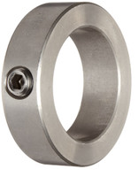 "1-1/8"" Stainless Steel Solid Shaft Collar"
