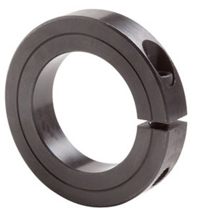 "1-1/8"" Black Oxide Single Split Shaft Collar Image"
