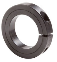 "1-1/8"" Black Oxide Single Split Shaft Collar"