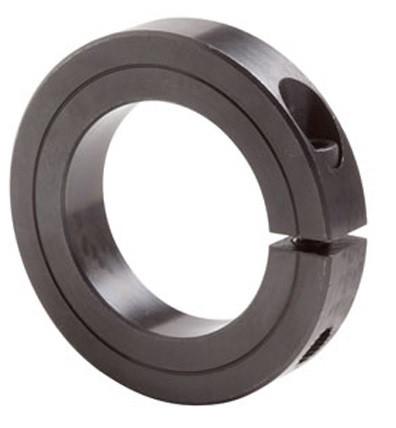 "1-3/16"" Black Oxide Single Split Shaft Collar Image"
