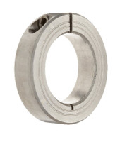 "1-1/2"" Stainless Steel Single Split Shaft Collar"