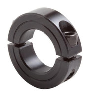 "2-7/16"" Black Oxide Double Split Shaft Collar"