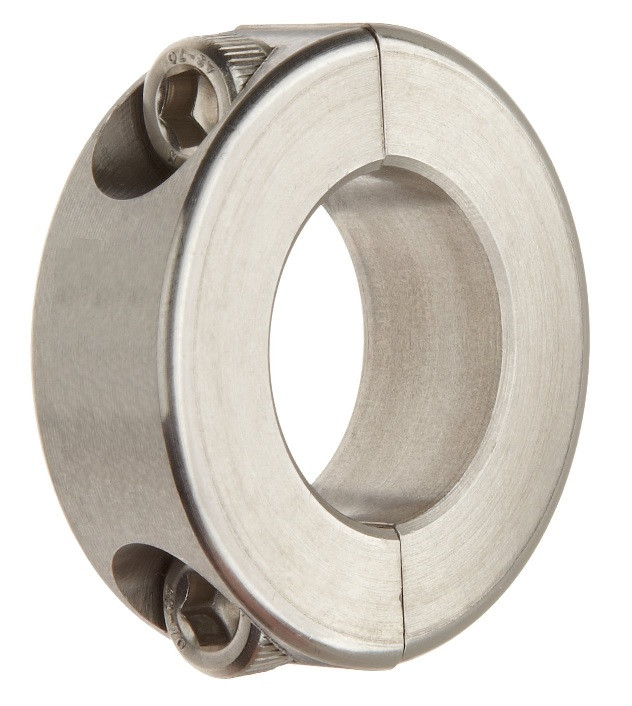 "1-1/8"" Stainless Steel Double Split Shaft Collar Image"