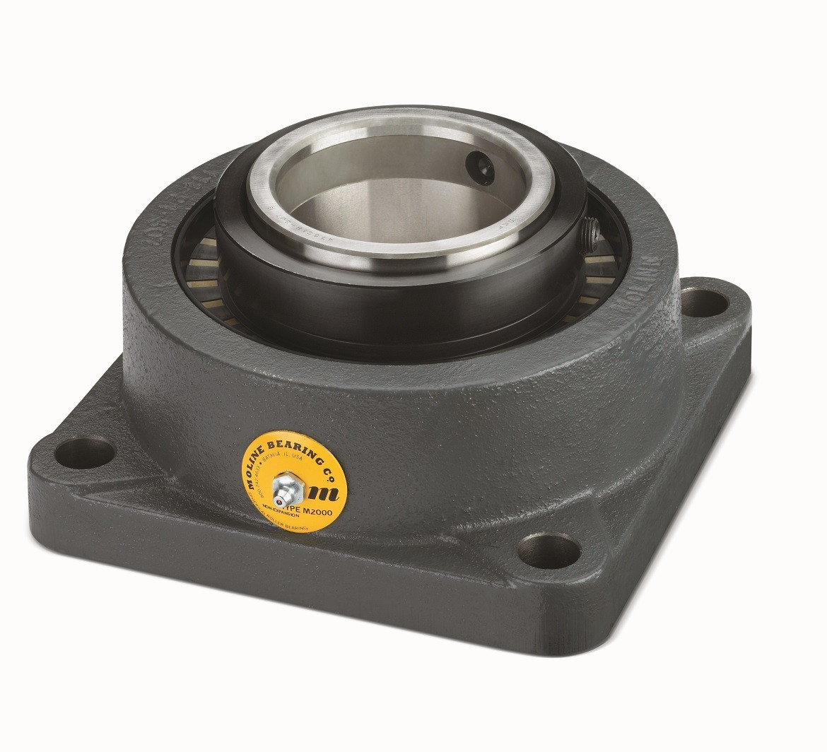 "2-11/16"" M2000 Heavy Duty Four Bolt Flange Bearing Image"