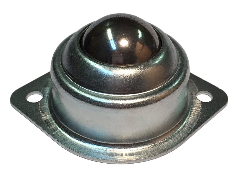 """2 Bolt Ball Transfer Unit with 5/8"""" Ball Image"""