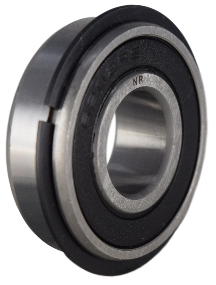 6202-2RSNR Radial Ball Bearing with Snap Ring 15X35X11 Image