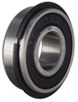 6202-2RSNR Radial Ball Bearing with Snap Ring 15X35X11