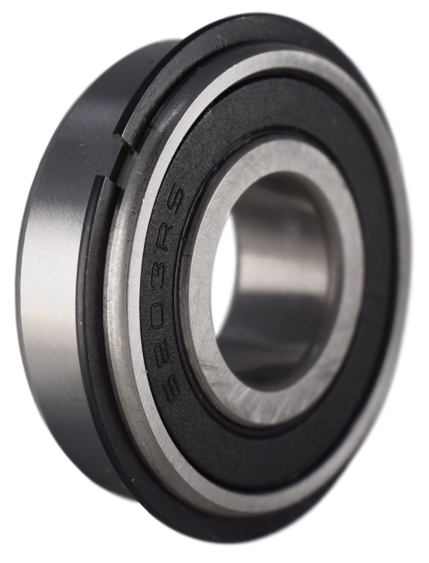 6203-2RSNR Radial Ball Bearing with Snap Ring 17X40X12 Image