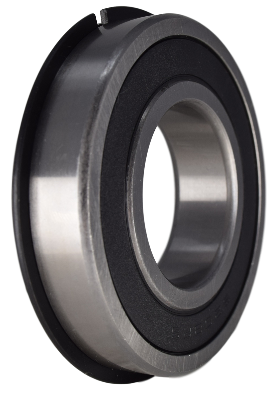 6208-2RSNR Radial Ball Bearing with Snap Ring 40X80X18 Image