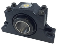 "2-1/4"" E1000 Heavy Duty Split Two Bolt Pillow Block Bearing"