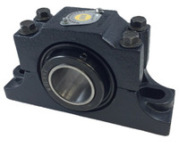 "2-3/4"" E1000 Heavy Duty Split Two Bolt Pillow Block Bearing"
