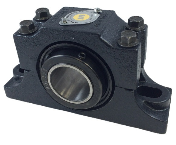 "3"" E1000 Heavy Duty Split Two Bolt Pillow Block Bearing Image"