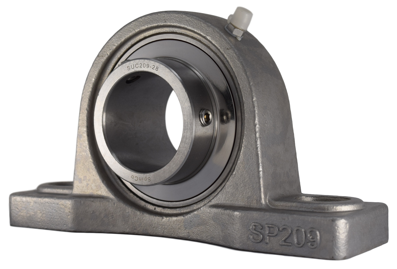 "1-3/4"" Stainless Steel Pillow Block Bearing SSUCP209-28 Image"
