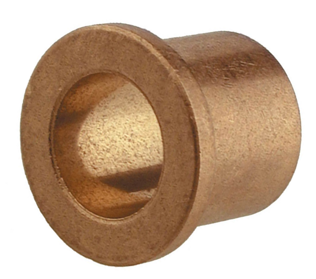 "1""x1-1/4""x3/4"" Sintered Bronze Flanged Bushing Image"