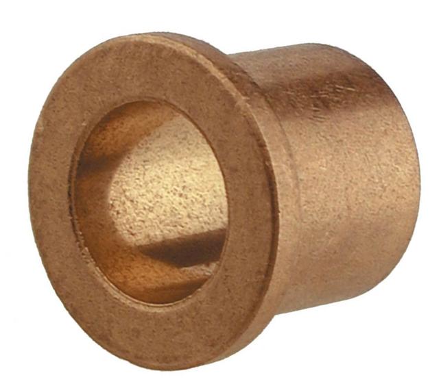 "1""x1-1/4""x1-1/4"" Sintered Bronze Flanged Bushing Image"