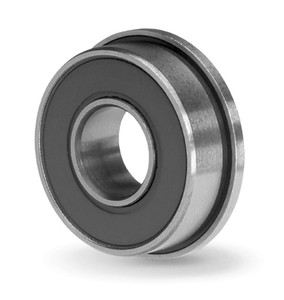 "FR6-2RS Flanged Radial Ball Bearing 3/8""x7/8"" Image"