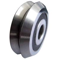 "RM1-2RS V-Groove CNC Radial Ball Bearing 3/16"""