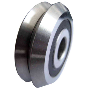 "RM2-2RS V-Groove CNC Radial Ball Bearing 3/8"" Image"