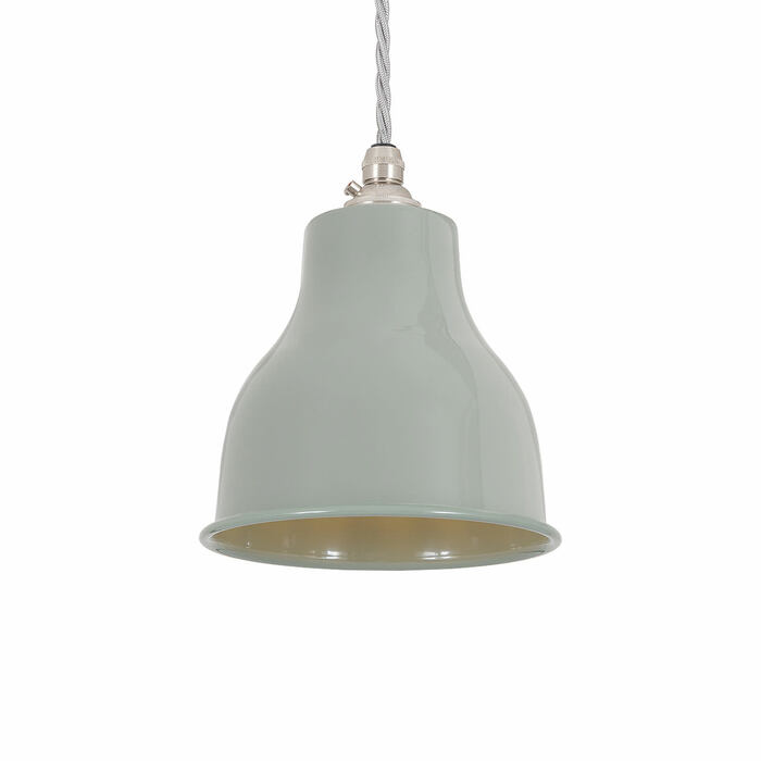 Factory Pendant - Small - Olive Grey