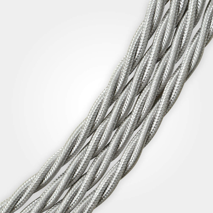 Silver Braided Cable Flex