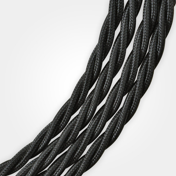Black Braided Cable Flex