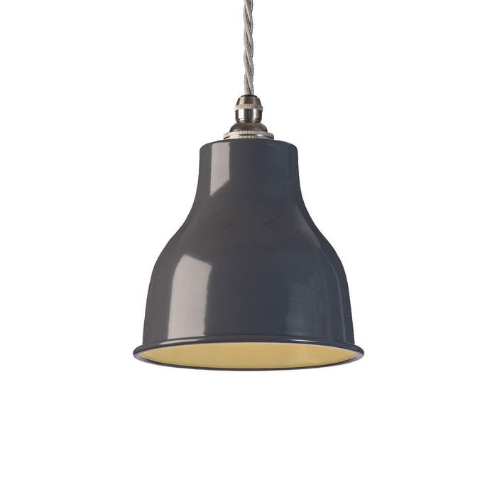 Factory Pendant - Small - Dark Grey