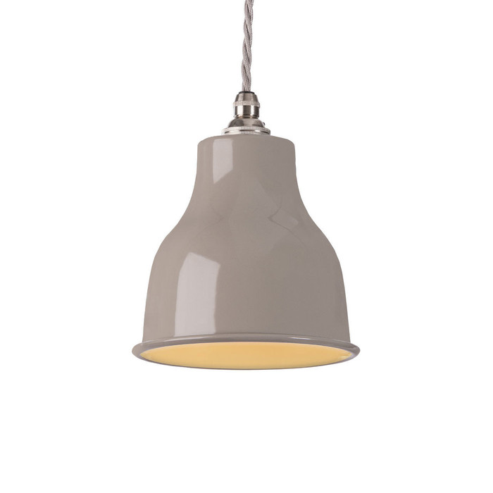 Factory Pendant - Small - Mid Grey