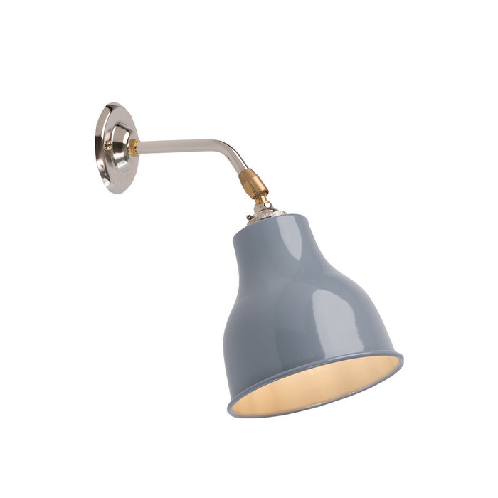 Factory Wall Light MK1 - Squirrel Grey