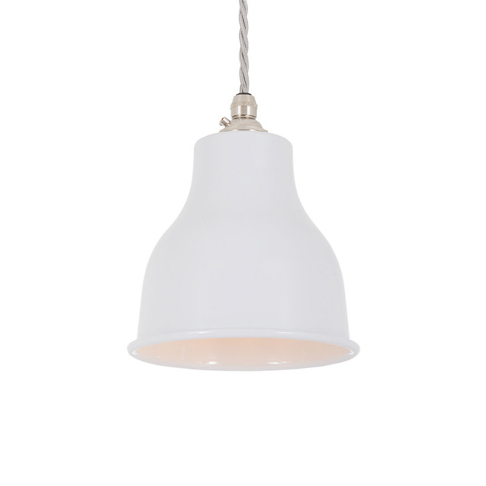 Factory Pendant - Small - Polar Grey