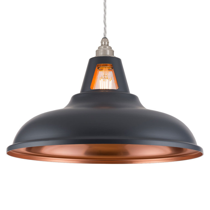 Supersized Fusion - MATT Dark Grey & Copper