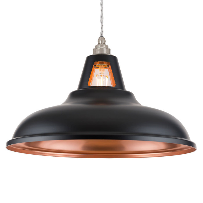 Supersized Fusion - MATT Black & Copper