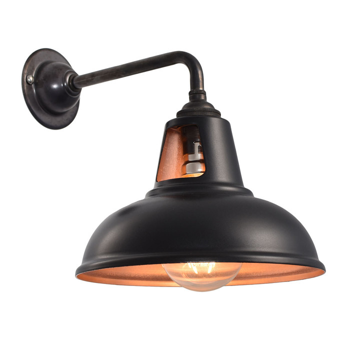 Fusion Wall Light - MATT Black & Copper