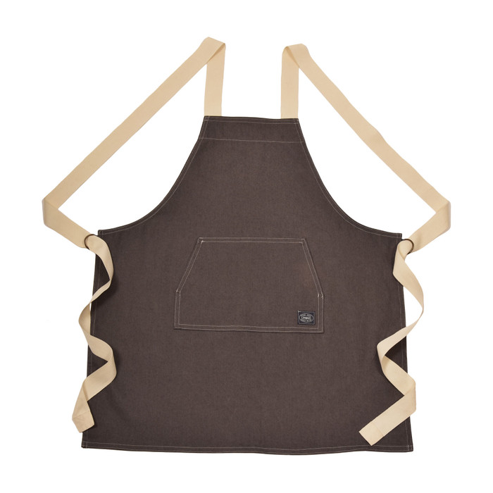 Denim Apron - Dark Grey