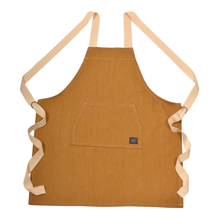 Denim Apron - Golden