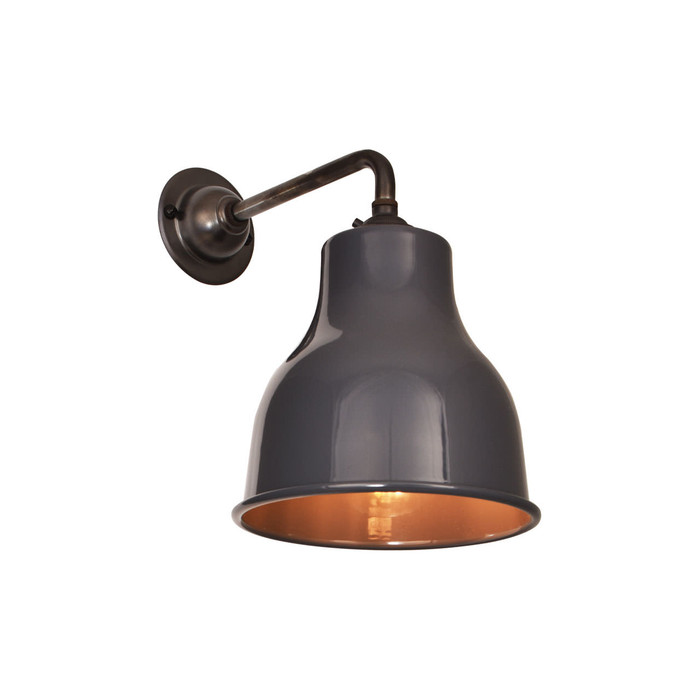 Factory Wall Light Mk4 - Dark Grey