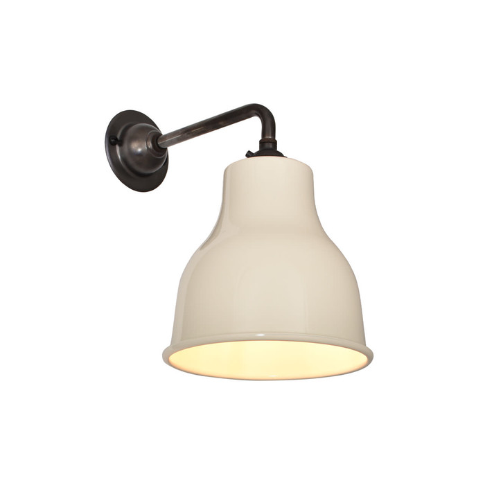 Factory Wall Light MK4 - Ivory