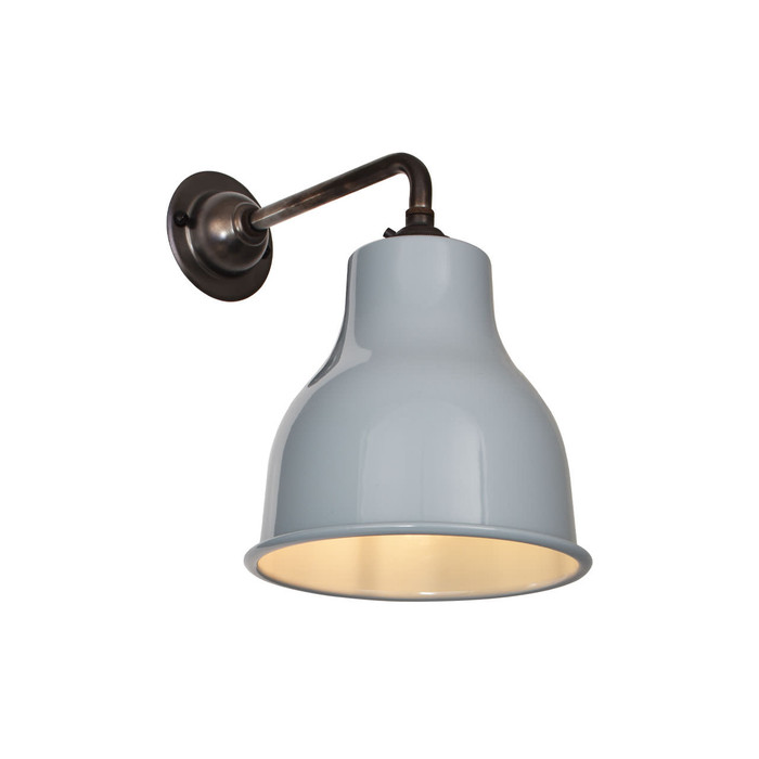 Factory Wall Light MK4 - Squirrel Grey