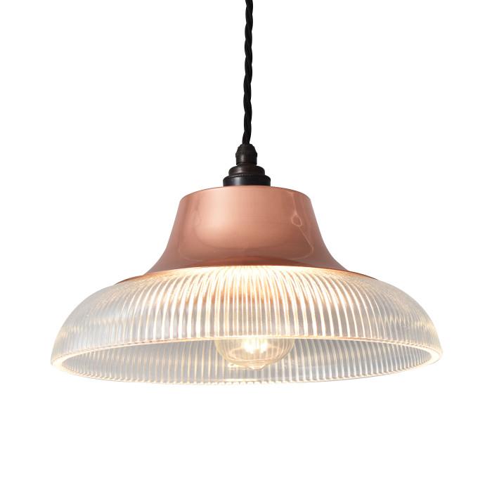 Copper Prismatic Pendant - Classic