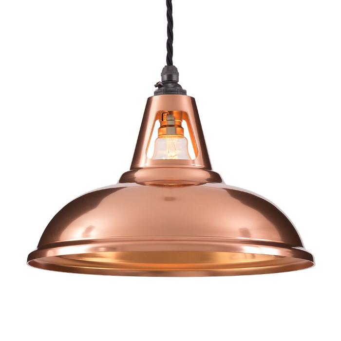Factory Pendant - Copper