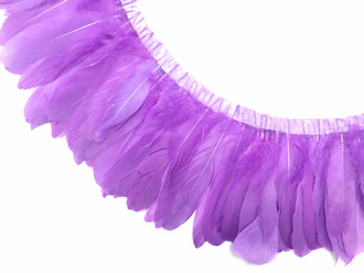 Lavender Goose Nagoire And Satinettes Feather Trim