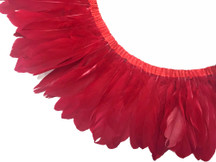 Red Goose Nagoire And Satinettes Feather Trim